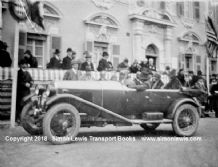 Lagonda. Photo Sir Francis & Lady Samuelson, Monte Carlo Rally 1928